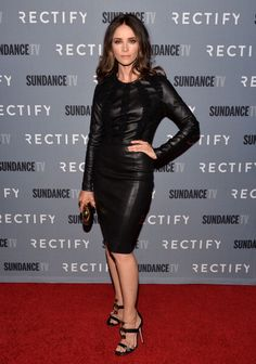 """Abigail Spencer at SundanceTV Celebrates The Season 2 Premiere Of """"RECTIFY."""" Styled by Karla Welch."""