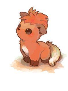 Aww.. vulpix looks like a little fluff pup here.