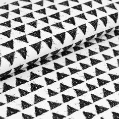 Biojersey Triangles white