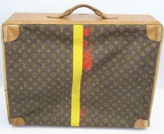 Vintage 70's Louis Vuitton Suitcase {ebay bids start at $199.99}