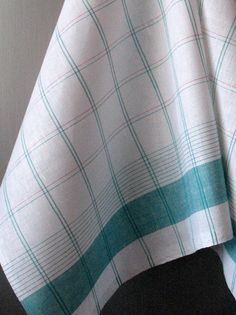 Items similar to Linen Cotton Dish Towels - Tea Towels set of 2 on Etsy Dish Towels, Tea Towels, Turquoise Kitchen, Weaving Designs, Edible Gifts, Hand Weaving, Dishes, Handmade Gifts, Coton Biologique