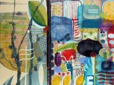 """Saatchi Art Artist wyanne thompson; Painting, """"Bump In the Road"""" #art"""