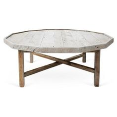 Check out this item at One Kings Lane! Octagonal Coffee Table
