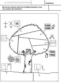 automne, graphisme - école maternelle Gellow Petite Section, Preschool Learning Activities, Teaching Art, Fit Women, Homeschool, Kids, Recherche Google, Art Education Lessons, Initials