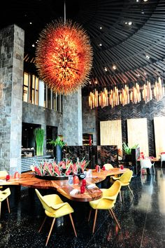 This guide to Bali's best restaurants was last updated on 19 Mar Bali is Indonesia's favourite poster boy for tourism; it is the most popular tou Bali Restaurant, Restaurant Guide, Luxury Restaurant, Restaurant Lighting, Bali Honeymoon, Honeymoon Destinations, Oh The Places You'll Go, Places To Travel, Bali Baby