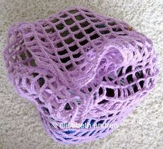 how to make a mesh bag by elisabeth andrée
