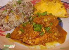 CARIBBEAN: CURRY CHICKEN RECIPE | Caribbean Recipes | Caribbean Food Recipes