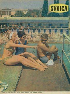 Swimming pool, Warsaw, Poland