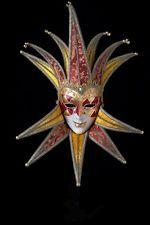 Masque Vénitien Jolly à 12 pointes Fait à la Main à Venise!