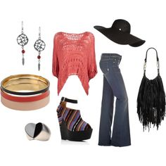 70's, created by cecilia-ann on Polyvore