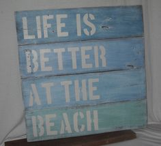 Upcycled pallet wood sign by prettiesbyme on Etsy, $55.00