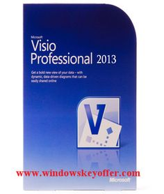 Visio professional 2013 retail versions with the download link and a genuine license key ,only $39.99