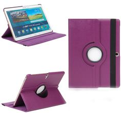 """myLife Mauve Purple {Classy Sleek Design} 360 Degree Rotating Stand Case for Samsung Galaxy Tab S 10.5"""" Inch Tablet (High Quality Koskin Vegan Faux PU Leather Cover + Slim Folding Lightweight Design)"""