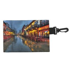 Street reflections Clip On Accessory Bag