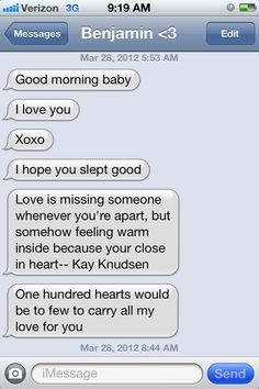 Good Morning Text for Boyfriend