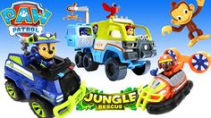The Paw Patrol Jungle Rescue Terrain Vehicle With Ryder Chase Zuma And Mandy Monkey Plus We Have A FUN SURPRISE From Show Tell Toys