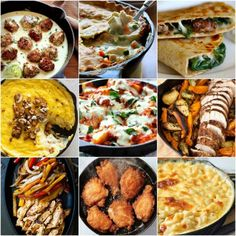 Don& you just love cooking with cast iron? Cooking meals with cast iron is not difficult. Here are some scrumptious cast iron skillet dinner meals to make. Best Cast Iron Skillet, Iron Skillet Recipes, Cast Iron Recipes, Easy Skillet Dinner, Skillet Dinners, Easy Dinners, Healthy Cooking, Cooking Recipes, Oven Recipes