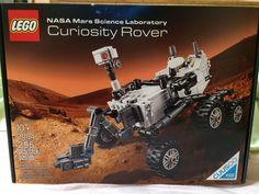 My very own NASA Curiosity Rover made from LEGO bricks!