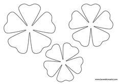 News Giant Paper Flowers, Felt Flowers, Diy Flowers, Fabric Flowers, Paper Butterflies, Felt Crafts, Diy And Crafts, Paper Crafts, Flower Template