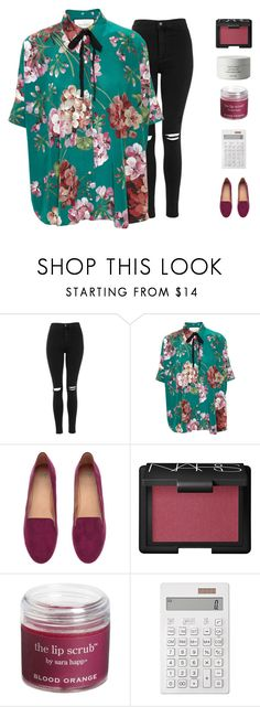 """""""Untitled #79"""" by kayladxnielle ❤ liked on Polyvore featuring Topshop, Gucci, H&M, NARS Cosmetics, Sara Happ, Muji, Byredo, women's clothing, women's fashion and women"""