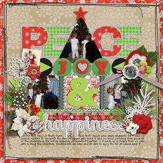Cindy's Layered Templates - Christmas Single 6 by Cindy Schneider Mistletoe Magic by Melissa Bennet & Amy Stoffel Heart Art : Krafty Girl by Sugarplum Paperie Stitches by Erica Zane