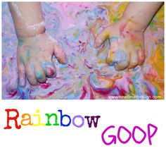 The rain outside today has got me thinking about rainbows and activities to brighten up a ho-hum day.  This is a great indoor activity to do with your child.  SO MUCH FUN!!!  You DO have to be a bit brave – and not afraid of a little mess… but you wouldn't let that scare you...Read More »