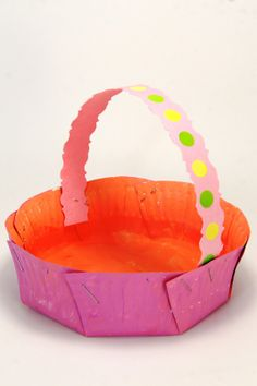 Jellyfish Jelly – Creative Kids » Blog Archive » Paper Plate Easter Baskets