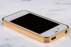 brikk iphone case, gold and white. this looks good!