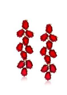 via @Roposo Animal Party, Jewelry Box, Jewellery, Happy Shopping, Fire, Stone, Elegant, Earrings, Women