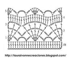 Resultado de imagen de mantoncillo flamenca ganchillo