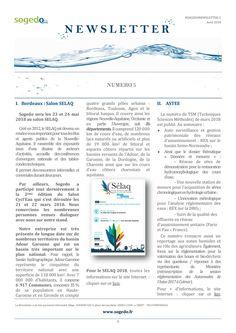 Newsletter numéro 5