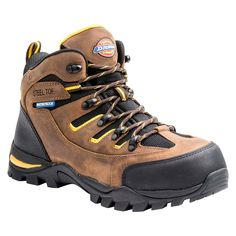 Men's Dickies Sierra Work Boots - Brown 10.5