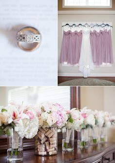 2016 Adler Stone Tower Winery Wedding | Limefish Studio Photography | Vineyard Wedding | Blush Bridesmaid Dresses | Ring Shot