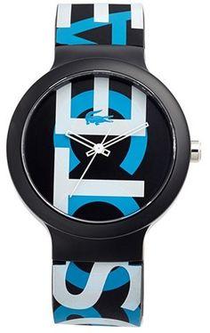 Lacoste  Goa  Silicone Strap Watch, 40mm Roupa Mínima, Moda Masculina,  Relógios 3f47a8d982