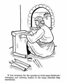 Coloring Bible NT Epistles On Pinterest