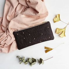 #MadeFromPiñatex Wallet by Grey Whale