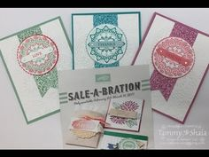 Sale-A-Bration 2017--Make a Medallion Stamp Set - Be Creative Stamping