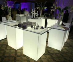 Aaron R Thomas: Custom Design for Events - Modern Acrylic Furniture by Aaron R. Thomas