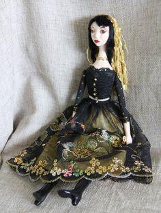 Art Doll Gothic Gypsy.