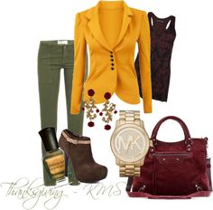 """Thanksgiving"" by karalexislv on Polyvore"