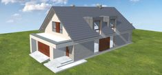 Projekt domu Alwin 171,57 m2 - koszt budowy - EXTRADOM Milan, Shed, Outdoor Structures, Home Decor, Arquitetura, Decoration Home, Room Decor, Home Interior Design, Barns