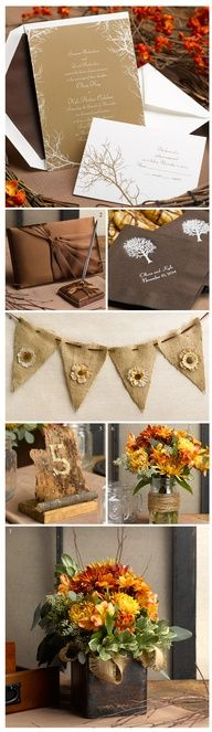 A Naturally Beautiful Wedding Theme: Boughs and Branches, Part 1