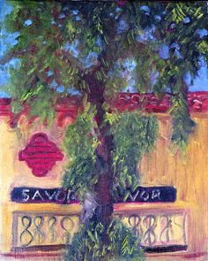 New  CALIFORNIA PEPPER TREE An Original Hand by AlanKrugFineArt, $150.00