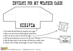 A great way of exploring weather with the kids is a weather chart - and we have one for you to print out here.