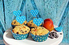 Sárgabarackos-csokis muffin (bögrésen)