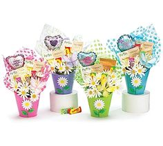 """""""Buckets of Wishes"""" Mother's Day Tea Gift Basket Tea Gift Baskets, Mothers Day Baskets, Tea Gifts, Food Gifts, Brownie Girl Scouts, Cool Patches, Practical Gifts, Buckets, Drinking Tea"""