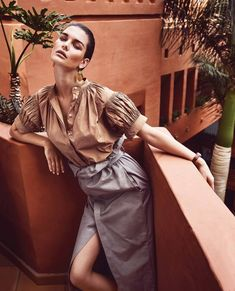 Harper's Bazaar February 2018 Ophelie Guillermand by Marcin Tyszka