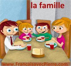 Postcast en français : la famille - Français avec Pierre