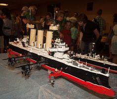 LEGO Ship   Flickr - Photo Sharing!