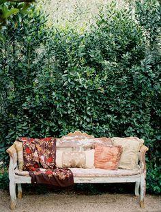 Secret Garden  dwellingsanddecor:    Design*Sponge» Blog Archive» wedding bells: a shop horne wedding